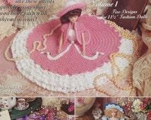 20%OFF Carol Hegar CLASSIC BED Dolls Volume 1 By Shady Lane - Doll Dress Crochet Pattern