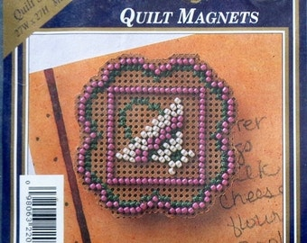 20%OFF Mill Hill Beads Counted Glass Bead Kit BASKET QUILT Square Quilt Magnet