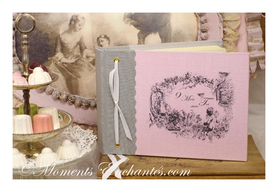 Note book Angel, secret book or guest book nine months with me