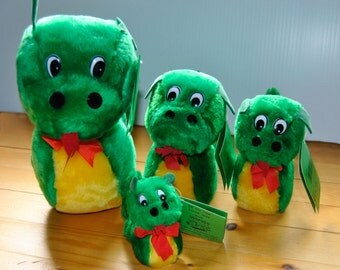 Ogopogo Plushies:  Available in Four Sizes