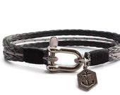 Men's Bracelet SALTI Nautical Bracelet '3rd Wave' (STONE)