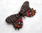 Needle Felted Brooch felt brooch brooches Copy real butterfly Gift For Mom Birthday Gift for Women Christmas Gift For Her wool felt