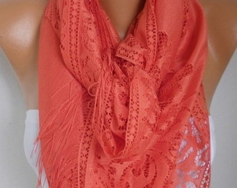 Tulle Scarf Valentine's day gift Teacher Gift Cowl Bridesmaid Bridal Accessories Gift Ideas for Her Women Fashion Accessories