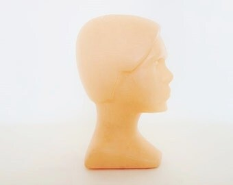Mid Century Mannequin Head from the Former East Germany Ostalgie
