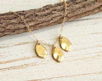 Golden Petals Necklace