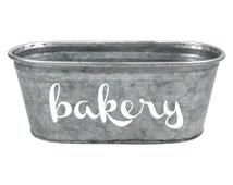 Bakery Kitchen Storage Tub