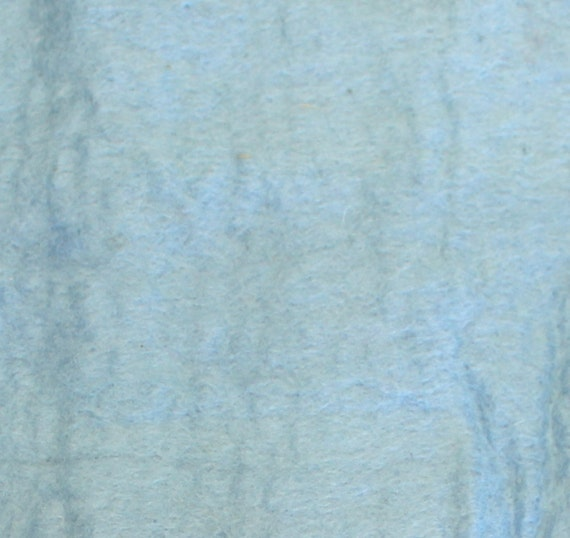 """Thick Handmade 100% Pure Wool Felt 100 Percent Laine in Dusty Blue Artisan Made Pure Wool From Nepal Hand Dyed 12"""" x 12"""" (30.48cm x 30.48cm)"""