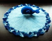 Whale Lovey in Shades of Blue