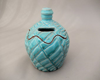 Ceramic Bank - Pottery Tzedakah -  Charity Box