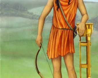 Apollo Prayer Card