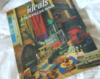 Vintage IDEALS Magazine Nostalgia Issue A Look Into the PastOld Products And Advertising Paper Ephemera