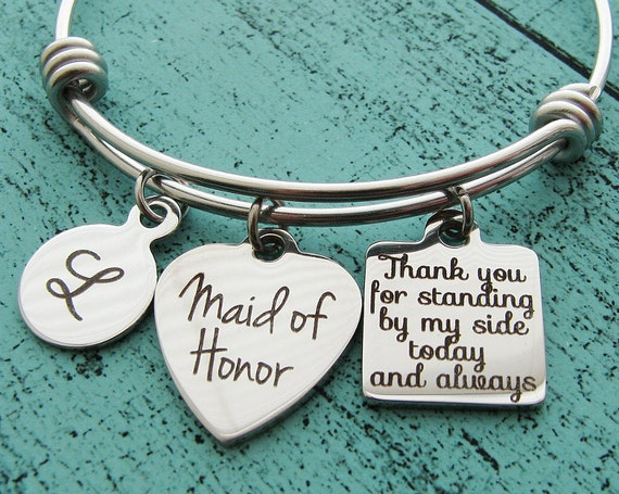 Maid Of Honor Gifts From Bride: Maid Of Honor Gift Maid Of Honor Proposal Gift Matron Of