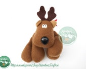 Rodney Reindeer: 1970s / 1980s Christmas Toy