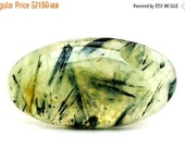 Prehnite Cabochon Stone (33mm x 21mm x 6mm) 44cts - Oval Cabochon