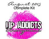CLEARANCE SALE: August 2015 Lip Addicts Anonymous Complete Kit