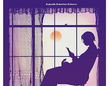 "The Color Purple - Movie Poster Print  13x19 or 24""x36"" Alice Walker novel Oprah Winfrey, Whoopie Goldberg, African American history culture"
