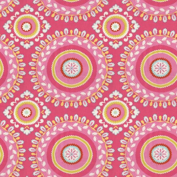 Cotton fabric by the yard kumari garden jeevan by laminates for Dena designs kumari garden
