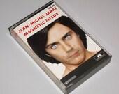 1980s Vintage Music Cassette Tape: Magnetic Fields by Jean-Michel Jarre.