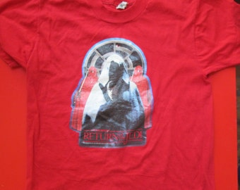 REturn of the Jedi vintage T shirt in size 14-16 circa 1983 Lucasfilm