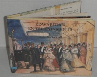 Edwardian Entertainments by John S. Goodall Vintage 1982 ex-library book