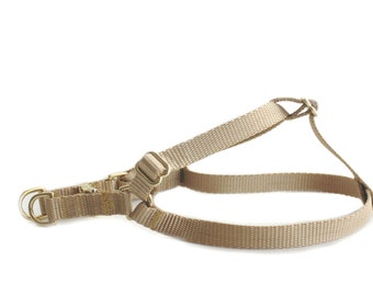 Solid Step in Dog Harness
