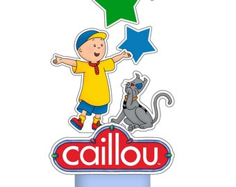 Caillou PRINTABLE Centerpiece