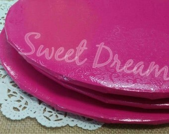 Pink cake drums 2
