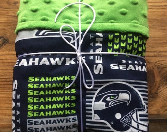 Seattle Seahawks baby blanket