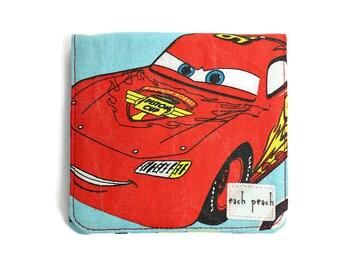 Boys Wallet - Cars Lightning McQueen - Blue / Red