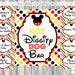 Mickey Mouse Clubhouse Birthday Party Bundle, Hot Diggity Dog Bar Sign, Food Tents, Food labels, Mouskatools Toodle Minnie Goofy Pluto Daisy