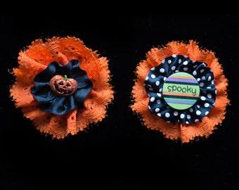 Halloween Hair Clip Set for Girls Halloween Hair Bows Halloween Kawaii Jack O Lantern Hair Clip Pumpkin Hair Clips Halloween Clothing