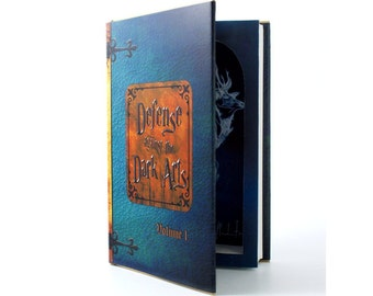 Secret Hollow Book Safe - Defense Against the Dark Arts for Harry Potter fans