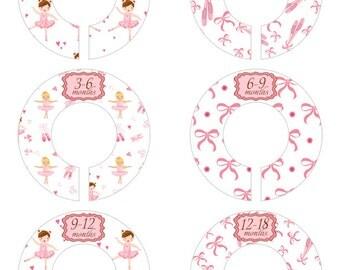 Baby Clothes Size Separators