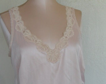Vintage Camisole Peach Cami size 36 JC Penney