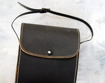 Vintage Binoculars Case Black