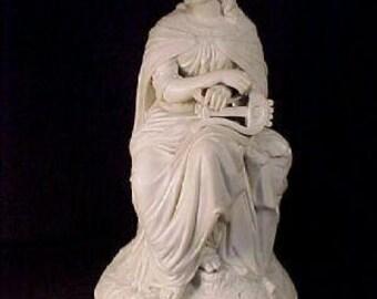 English Parian Sculpture Woman