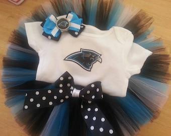 Carolina Panthers inspired tutu outfit