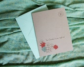 Grandparent sympathy card - they are your angel now