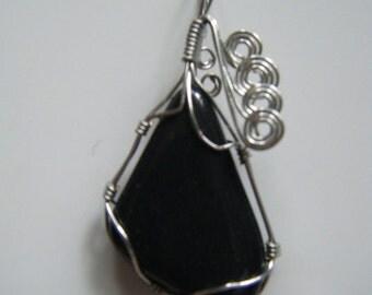 Black Jasper Pendant