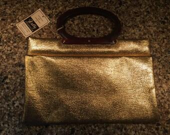 Deadstock Vintage Gold Purse