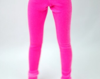 Minifee Pink Velour Leggings For MSD BJD