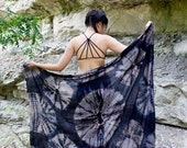 Black Onyx Sarong >>>> Boho, Beach, Cover up, Gypsy