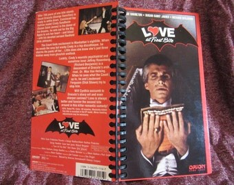 Love at First Bite VHS Notebook