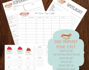 2016 Primary Theme Made Easy for Secretaries