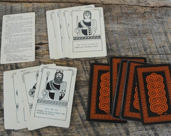 Vintage Card Game Greek Myths and Legends 1977 Educational Products