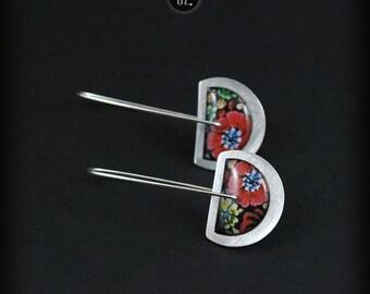 Circles Poppy Cut Mini - short earrings