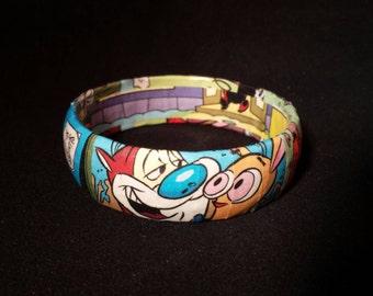 Ren and Stimpy Comic Book Bracelet