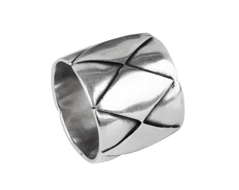 Rombo ring / Sterling silver