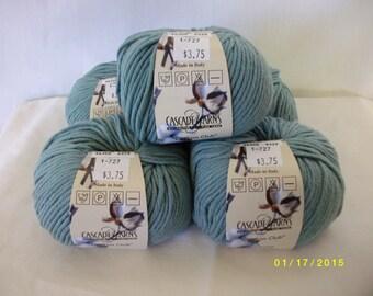 Cascade Yarns cotton club  (Lot of 5)