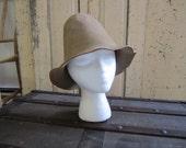 """Genuine Hillbilly Hat. Felt Redneck Hat. Cone hat. Costume Fancy Dress Prop. """" Paddle faster I hear Banjo's"""""""